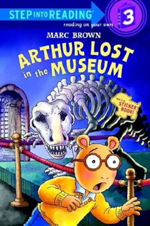 Marc Brown - Arthur Lost in the Museum [With Stickers], Paperback -