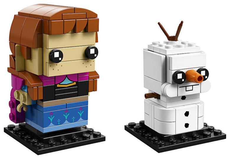 LEGO - LEGO BrickHeadz, Anna si Olaf 41618 -