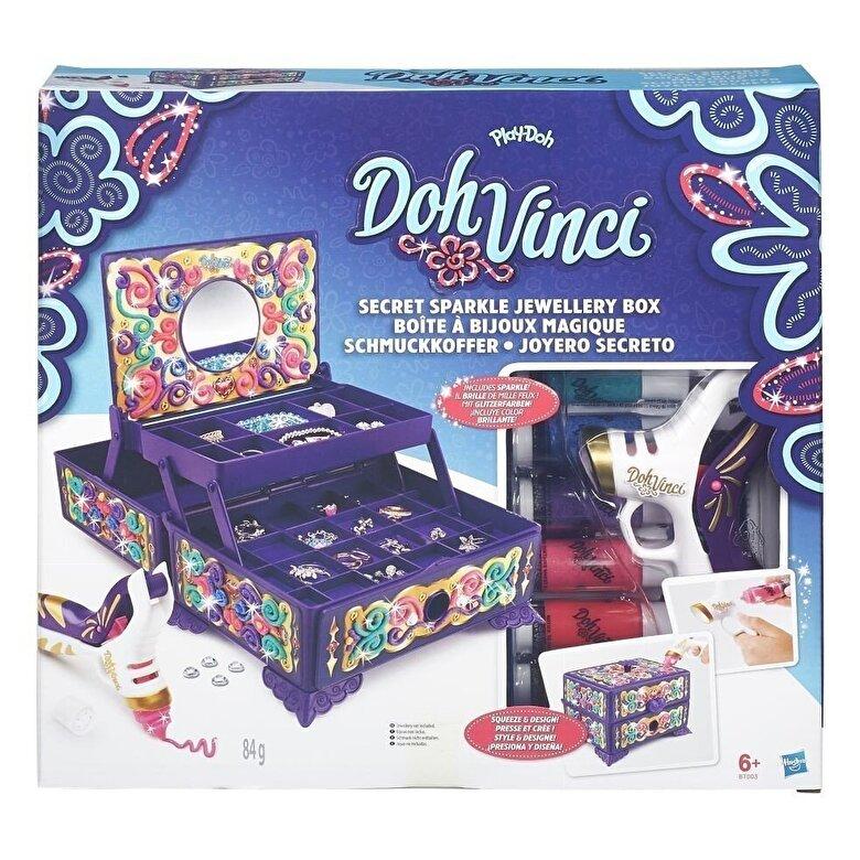 Play-Doh - Play-Doh, Set Doh-Vinci - Cutie de bijuterii -
