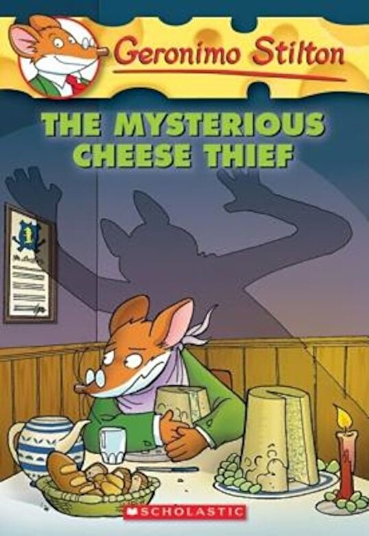Geronimo Stilton - The Mysterious Cheese Thief, Paperback -