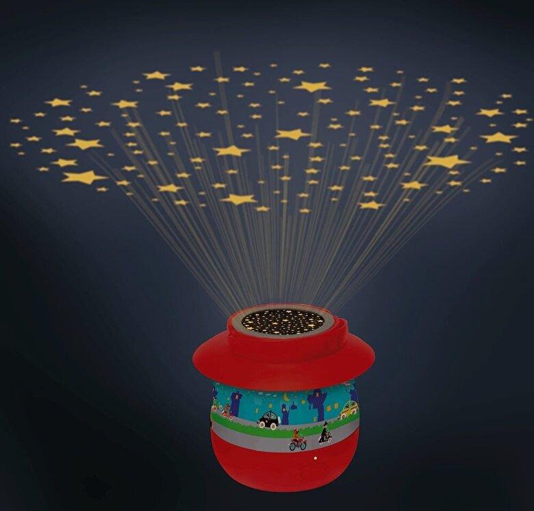 Scratch - Lampa proiectie Oras -