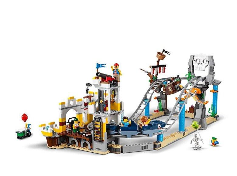 LEGO - LEGO Creator 3 in 1, Roller Coaster-ul Piratilor 31084 -