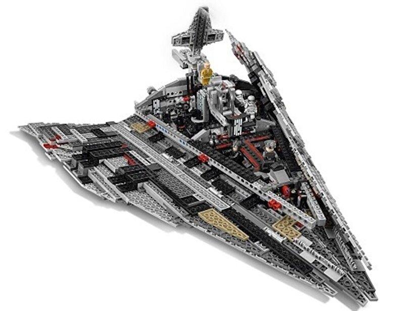 LEGO - LEGO Star Wars, Star Destroyer al Ordinului Intai 75190 -