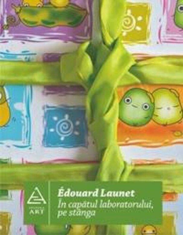 Edouard Launet - In capatul laboratorului, pe stanga -
