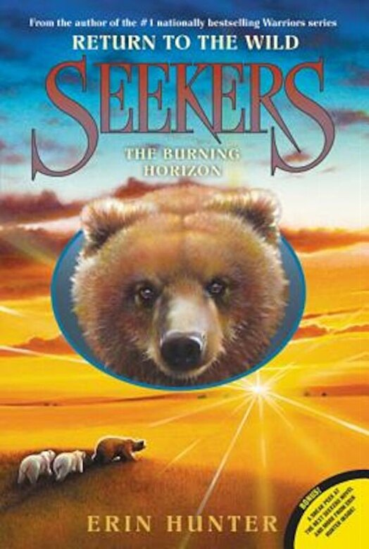 Erin Hunter - Seekers: Return to the Wild #5: The Burning Horizon, Paperback -