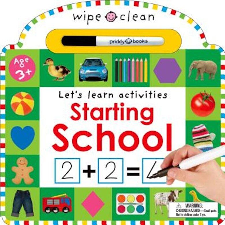 Roger Priddy - Wipe Clean: Starting School, Hardcover -