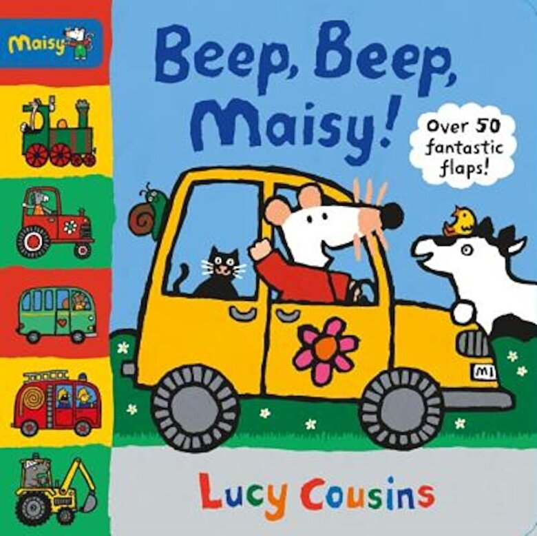 Lucy Cousins - Beep, Beep, Maisy!, Hardcover -