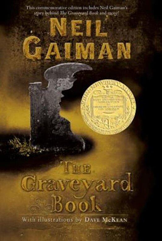 Neil Gaiman - The Graveyard Book, Paperback -