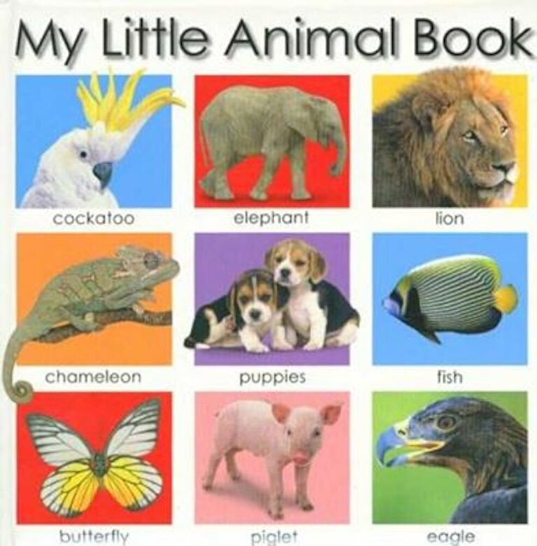 Roger Priddy - My Little Animal Book, Hardcover -