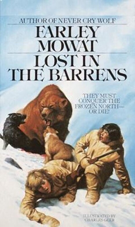 Farley Mowat - Lost in the Barrens, Paperback -