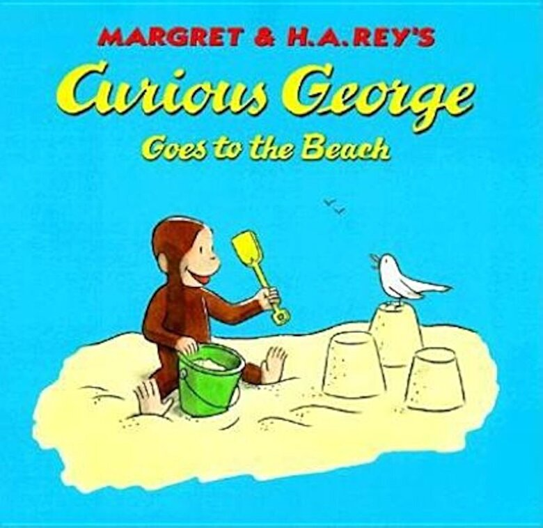 H. A. Rey - Curious George Goes to the Beach, Hardcover -