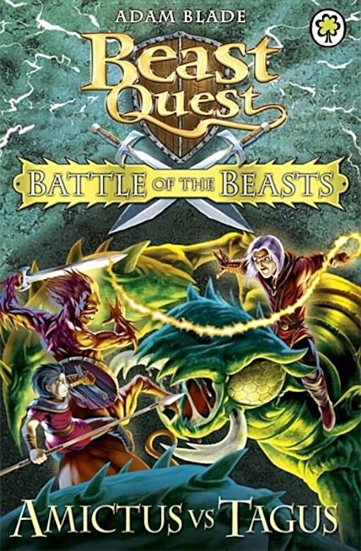 Adam Blade - Beast Quest Battle of the Beasts: Amictus Vs Tagus, Paperback -