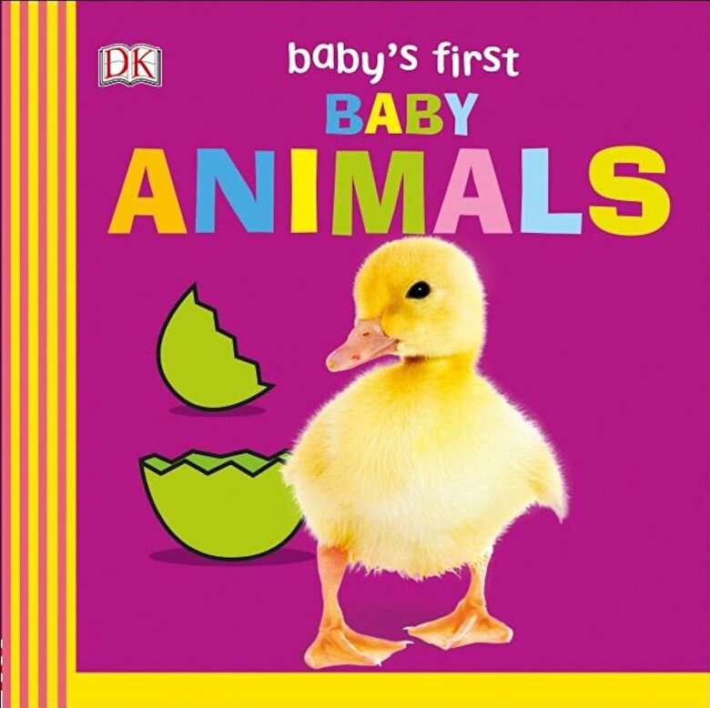 DK - Baby's First Baby Animals, Hardcover -