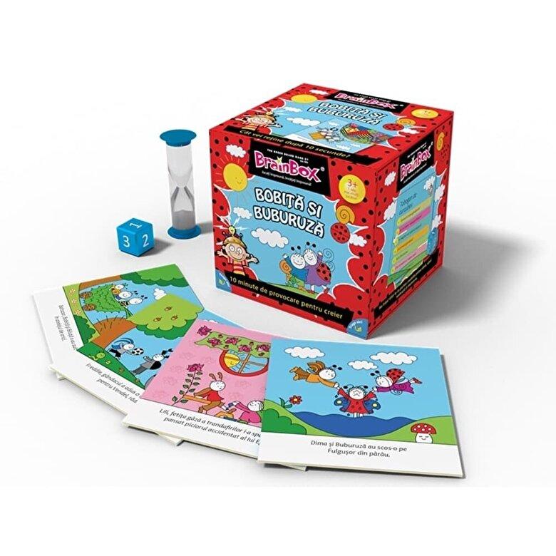Green Board Games - Joc Brainbox - Bobita si Buburuza -