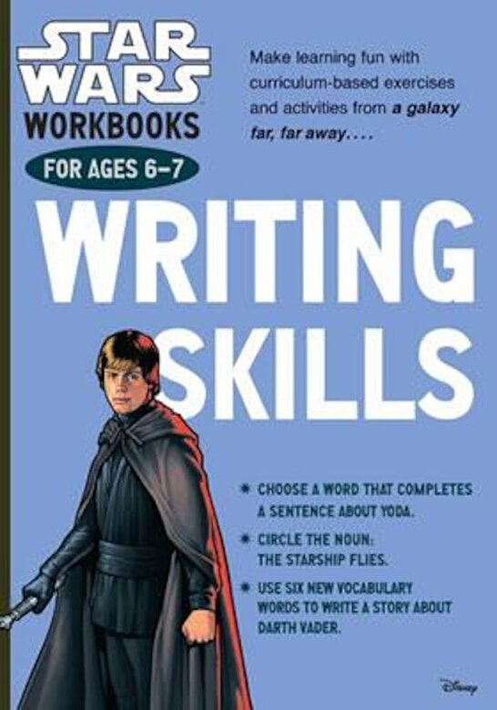 *** - Star Wars Workbooks: Writing Skills - Ages 6-7, Paperback -