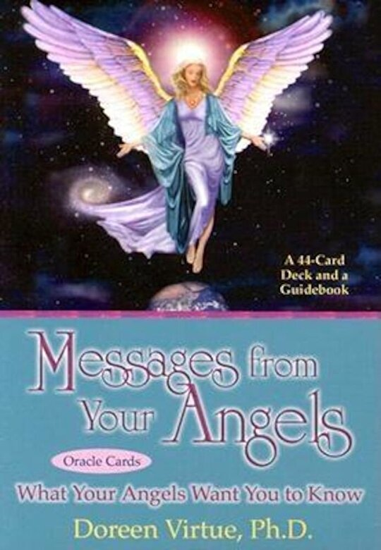 Doreen Virtue - Messages from Your Angels Cards [With Booklet] -