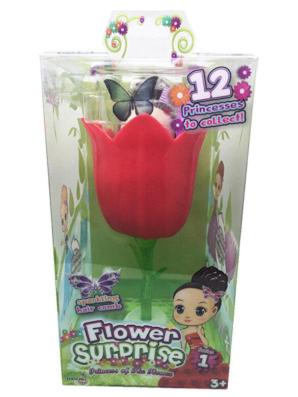 Flowers Surprise - Papusica Flower Surprise - Rose, 18 cm -