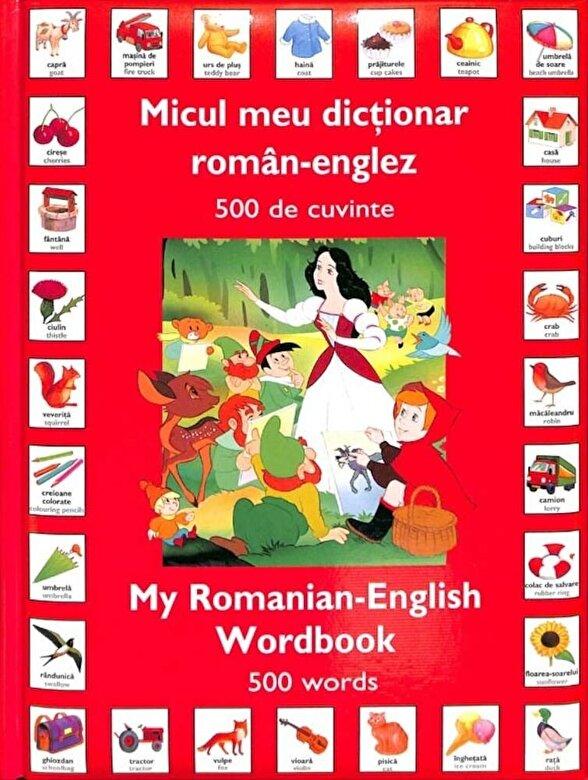 Primul dictionar englez-roman cu imagini pentru copilul tau