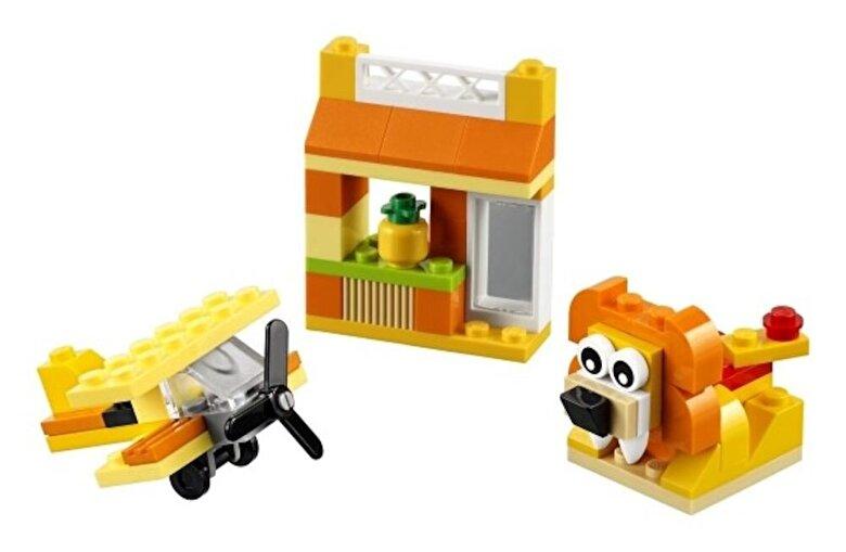 LEGO - LEGO Classic, Cutie portocalie de creativitate 10709 -