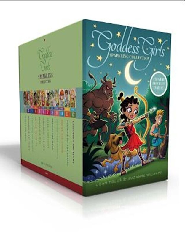 Joan Holub - Goddess Girls Sparkling Collection: Athena the Brain; Persephone the Phony; Aphrodite the Beauty; Artemis the Brave; Athena the Wise; Aphrodite the Di, Paperback -