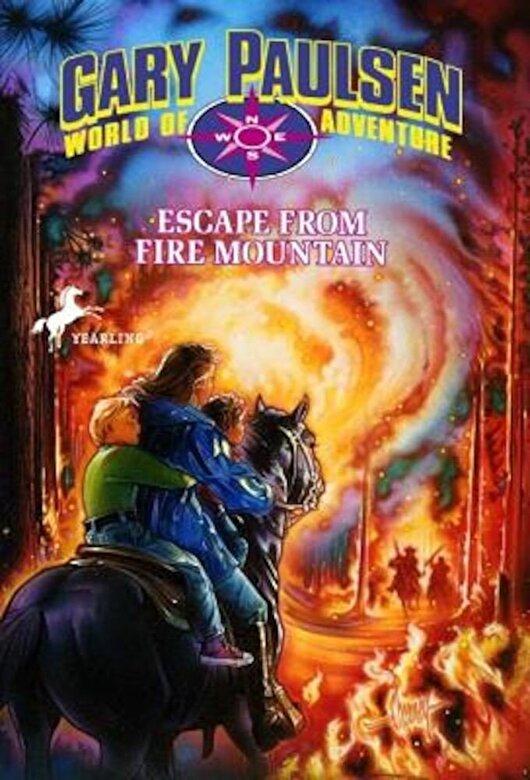 Gary Paulsen - Escape from Fire Mountain, Paperback -