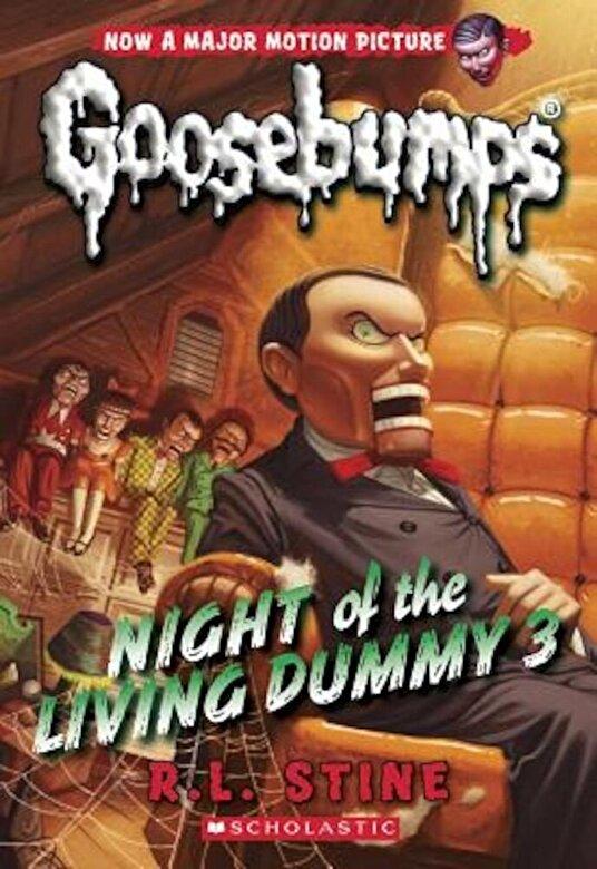 R. L. Stine - Night of the Living Dummy 3 (Classic Goosebumps #26), Paperback -