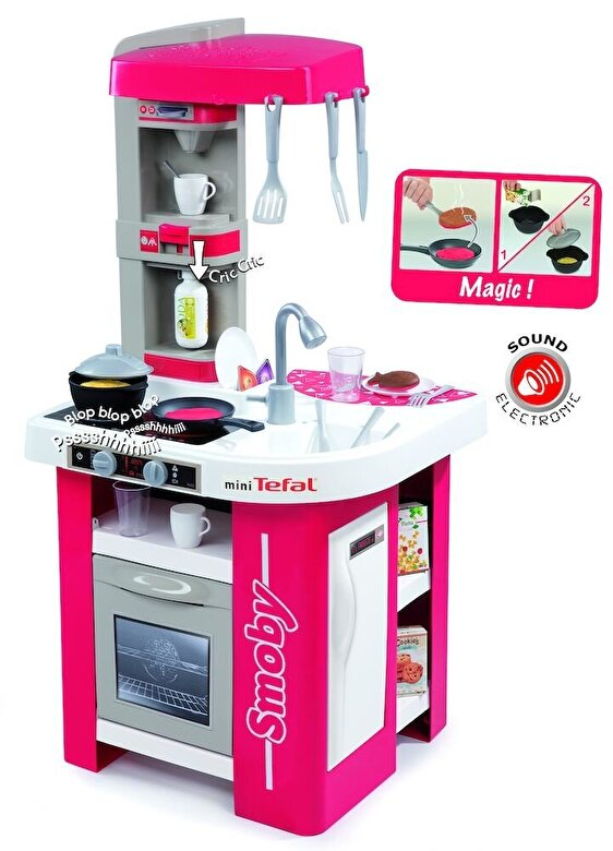 Smoby - Tefal - Bucatarie Studio -