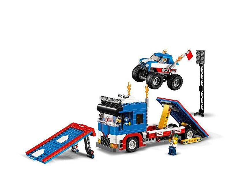 LEGO - LEGO Creator 3 in 1, Show mobil de cascadorii 31085 -