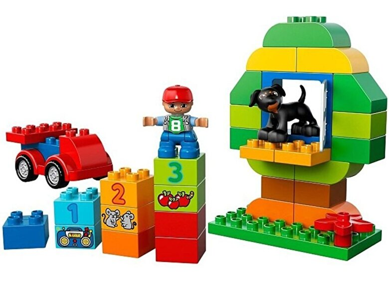 LEGO - LEGO DUPLO, Set complet cutie distractiva All-in-One 10572 -