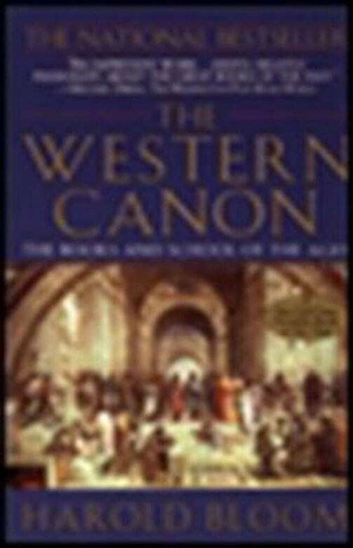 Harold Bloom - The Western Canon: The Books and School of the Ages, Paperback -