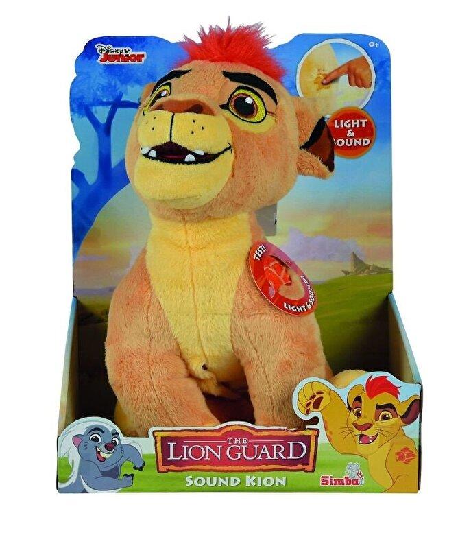 Simba - Plus Lion Guard Kion - cu lumini si sunete, 35 cm -