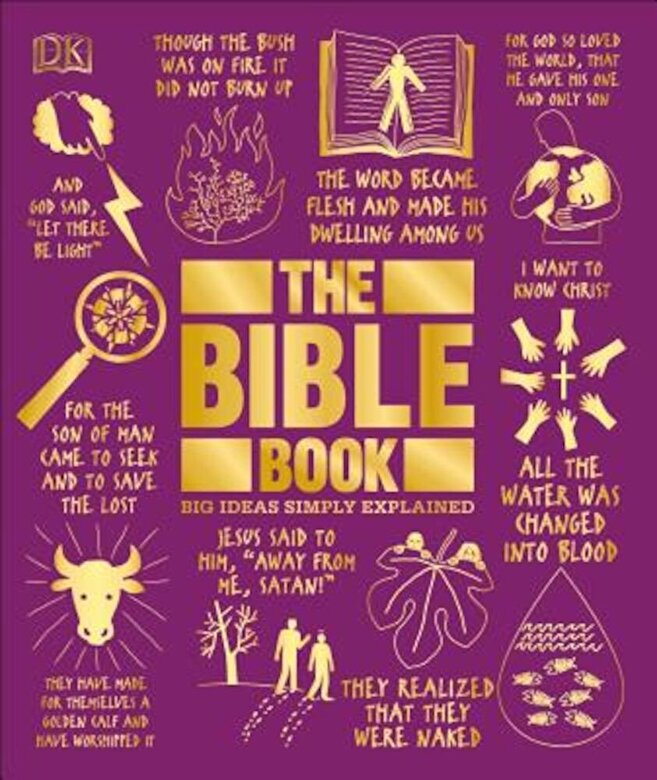 DK - The Bible Book: Big Ideas Simply Explained, Hardcover -