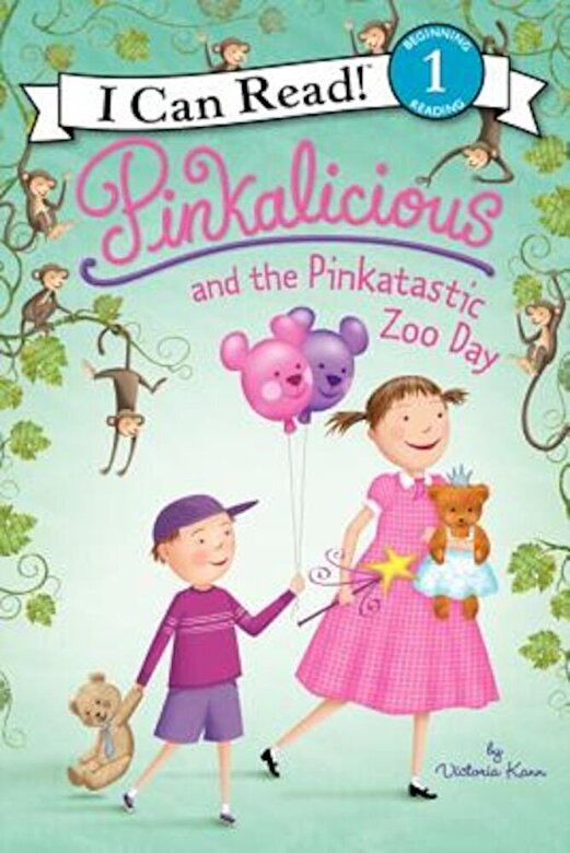 Victoria Kann - Pinkalicious and the Pinkatastic Zoo Day, Hardcover -