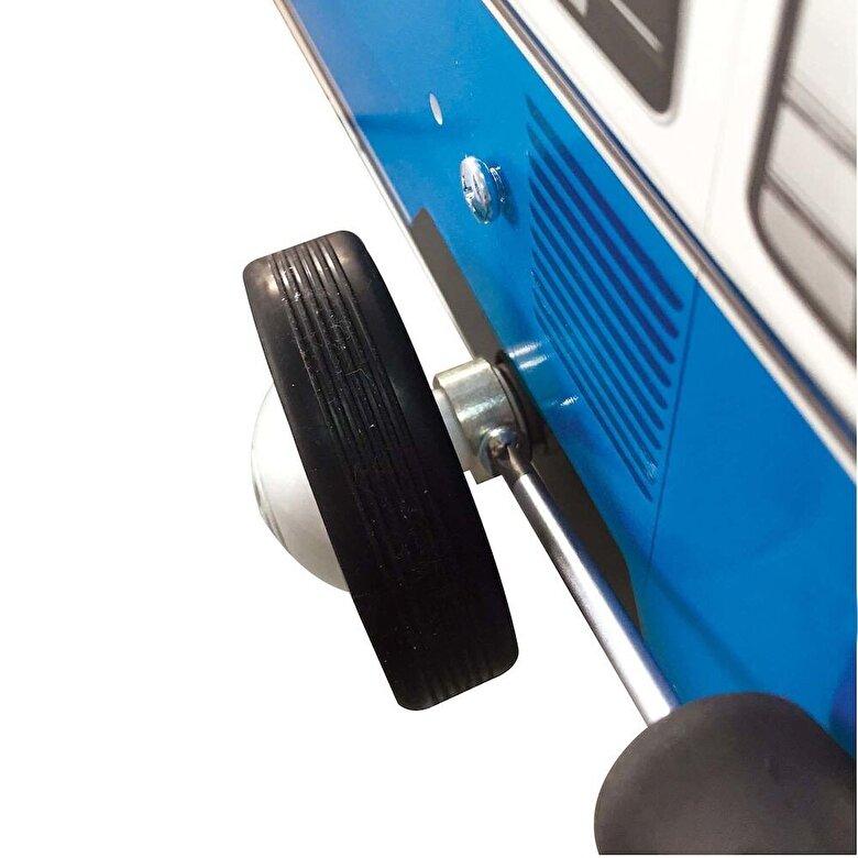 Hape - Premergator Autobuz, albastru -