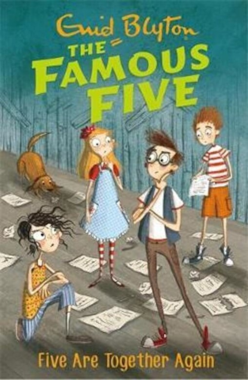 Enid Blyton - Famous Five: Five Are Together Again, Paperback -