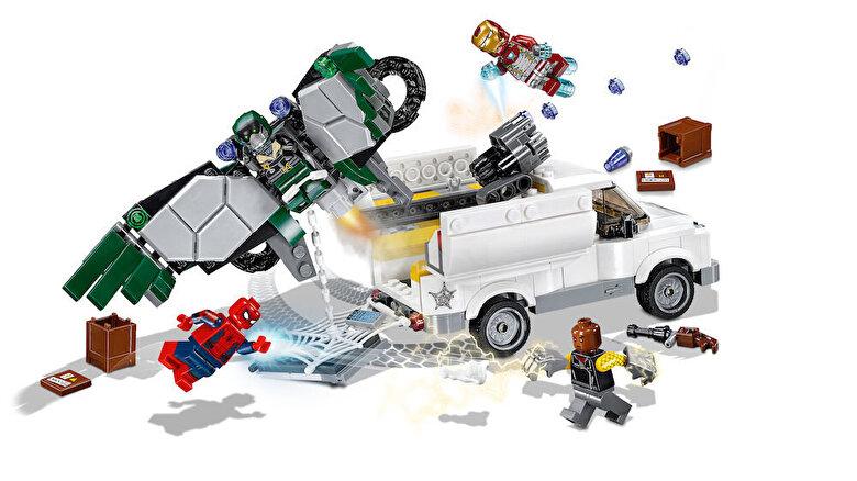 LEGO - LEGO Super Heroes, Spider-Man: Atentie la Vultur 76083 -