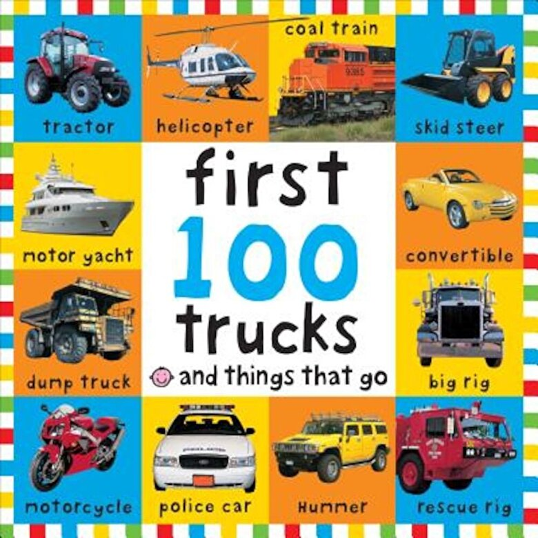 Roger Priddy - First 100 Machines, Hardcover -