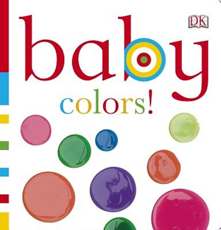 DK Publishing - Baby Colors!, Hardcover -