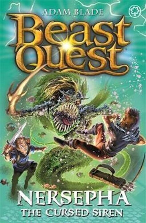 Adam Blade - Beast Quest: Nersepha the Cursed Siren, Paperback -