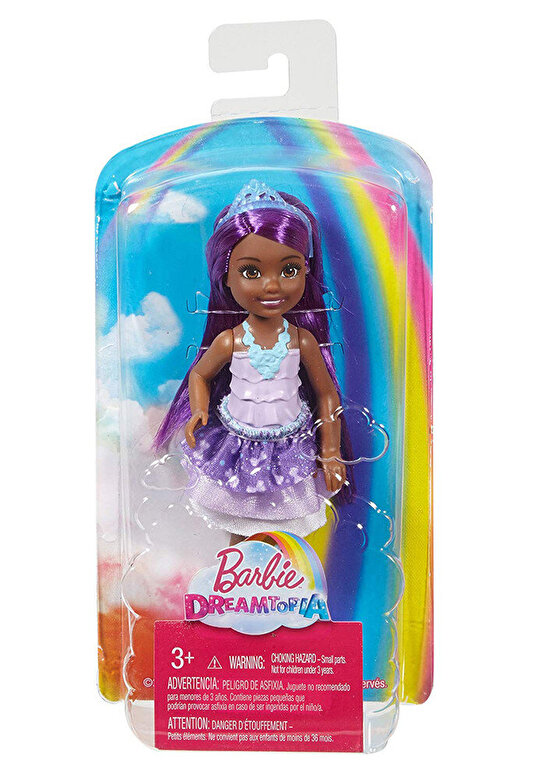 Barbie - Papusa Barbie Dreamtopia cu par mov -
