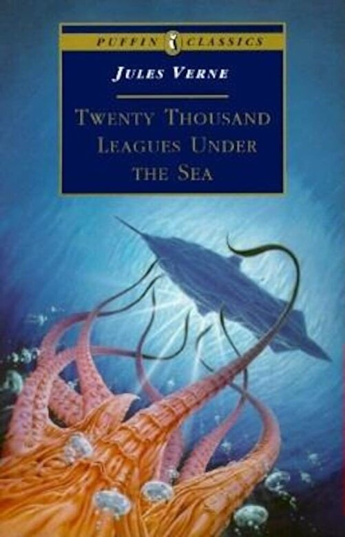 Jules Verne - Twenty Thousand Leagues Under the Sea, Paperback -