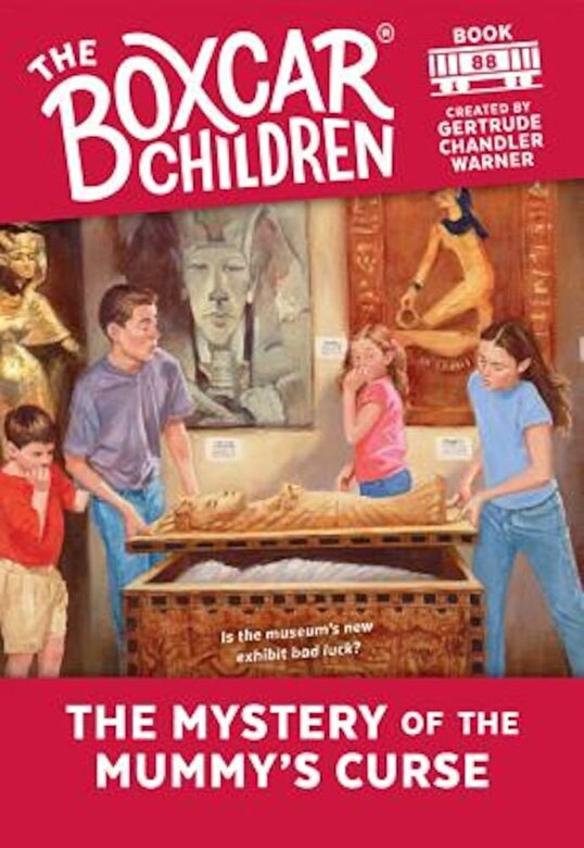 Gertrude Chandler Warner - The Mystery of the Mummy's Curse, Paperback -