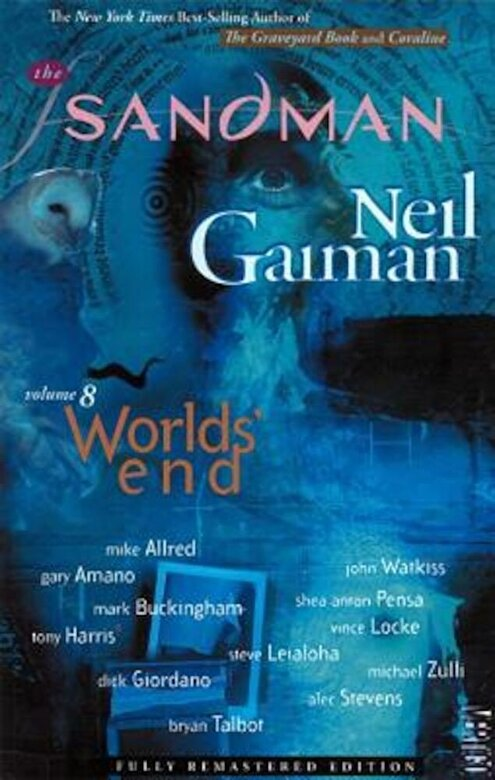 Neil Gaiman - World's End, Paperback -