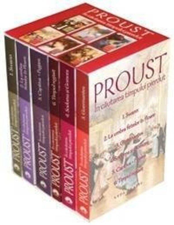 Marcel Proust - In cautarea timpului pierdut   - Editie integrala vol. 1-6 -