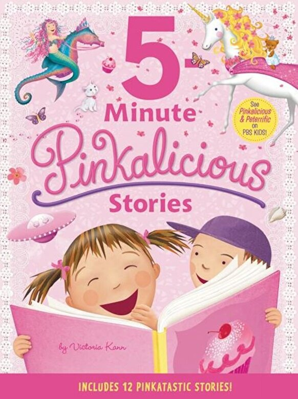Victoria Kann - Pinkalicious: 5-Minute Pinkalicious Stories: Includes 12 Pinkatastic Stories!, Hardcover -