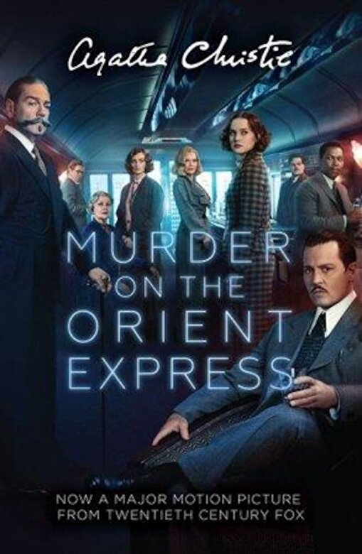 Agatha Christie - Murder on the Orient Express, Paperback -