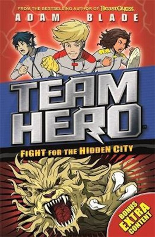 Adam Blade - Team Hero: Fight for the Hidden City, Paperback -
