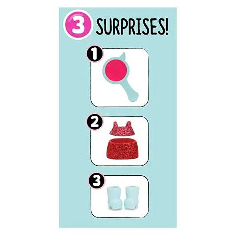 LOL - LOL Surprise Fashion Crush, 3 piese (Seria 4.1 Eye Spy) -