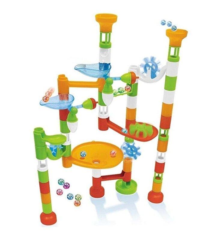 Buki France - Joc constructie - Labirint cu bile, 80 piese -