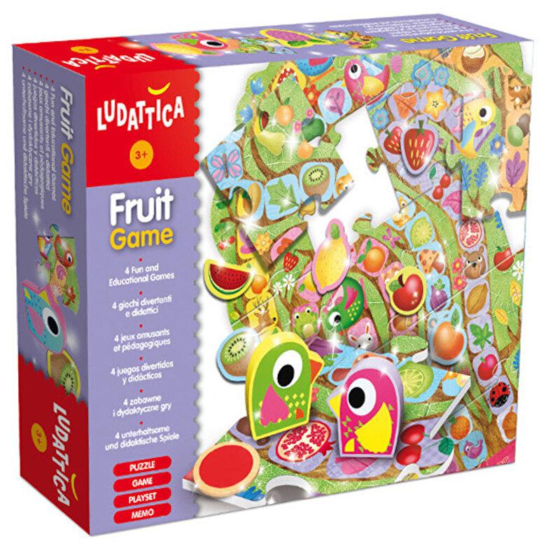 Ludattica - Jocul fructelor - puzzle podea, 22 piese -